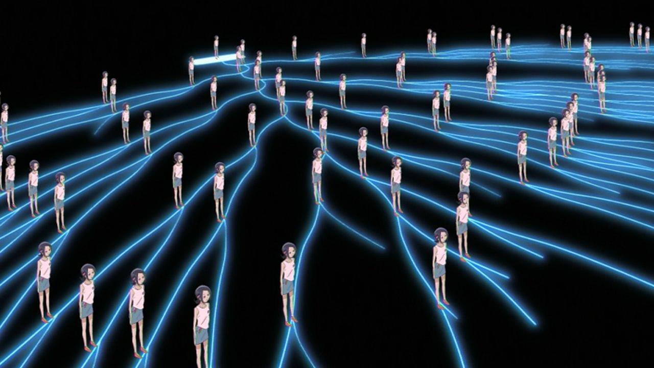 Schématisation du concept de multivers